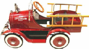 Model T Fire Truck Pedal Car - Click on image to enlarge