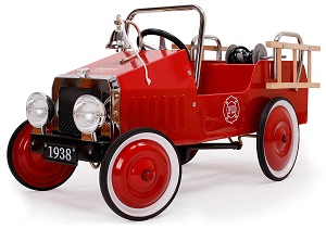 Jalopy Pedal Fire Engines - Click on image to enlarge