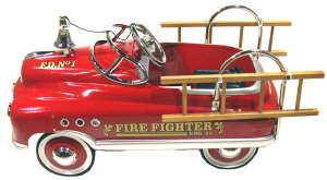 Comet Firefighter Pedal Car - Click on image to enlarge