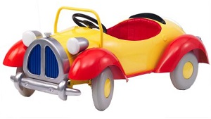 Noddy Pedal Car - Click on image to enlarge